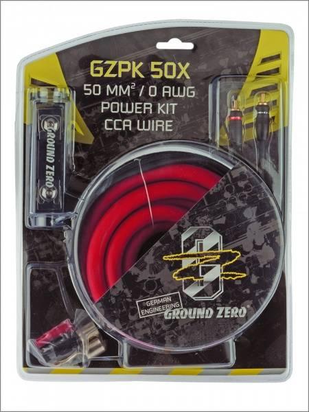 Bilde av Ground Zero GZPK50X 50mm2 kabelkit